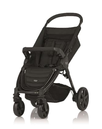 Britax stroller B-AGILE 4 Plus - The Britax B-agile 4 plus is the ideal companion for you and your baby - simple handling, light weight and flexible from the first day.