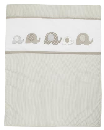 Alvi blanket elephant - This blanket is perfect for your little discoverer.