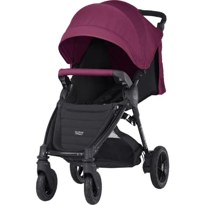 Britax B-MOTION 4 Plus inkl. Canopy Pack Wine Red 2018 - Großbild