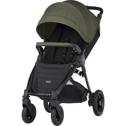Детская коляска Britax B-MOTION 4 Plus вкл. Canopy Pack Olive Green 2019 - большое изображение