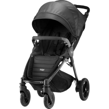 Britax B-MOTION 4 Plus inkl. Canopy Pack Black Denim 2019 - Großbild