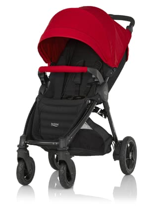 Britax B-MOTION 4 Plus inkl. Canopy Pack Flame Red 2018 - Großbild