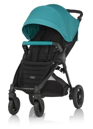 Детская коляска Britax B-MOTION 4 Plus вкл. Canopy Pack Lagoon Green 2018 - большое изображение