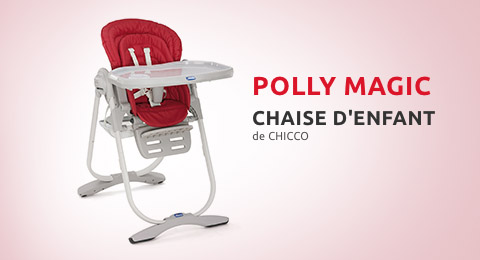 Chaise haute Polly Magic