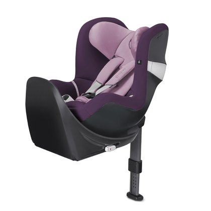 Cybex Rear-facing child car seat Sirona M i-Size incl. Isofix base -  The Cybex Sirona M is a reboard child car seat and is driven from birth up to 4 years rearward facing
