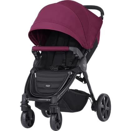 Britax B-Agile 4 Plus inkl. Canopy Pack Wine Red 2020 - Großbild
