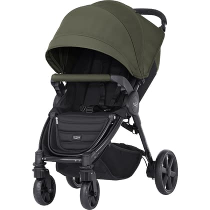 Britax B-Agile 4 Plus inkl. Canopy Pack Olive Green 2017 - Großbild