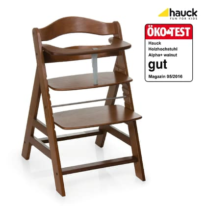 Hauck high chair Alpha+ Plus Walnut 2017 - large image