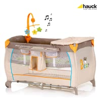 Hauck Babycenter - The Hauck Baby Center is a comfortable bed with exclusive accessories. Travelling with baby has never been easier.