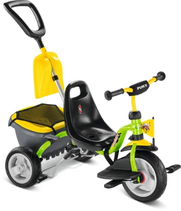 Puky Tricycle CAT 1SP - * The Puky trike CAT 1SL is equipped with Air-comfort tyres and comes complete with Footrest, Tipper and Shovel blade