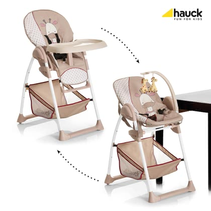 Hauck Hochstuhl Sit'n Relax - In the Hauck Sit'n relax your baby already from the first day with you at eye level can participate in family events.