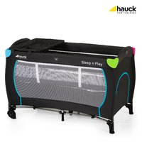 Hauck travel cot Sleep'n Play Center - This great Hauck Sleep'n play Center is perfect for the holidays or the visit to Grandma and Grandpa. At home, you can use it as a handy second bed.