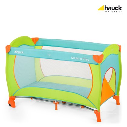 Hauck Travel Cot Sleep'n Play Go Plus Multicolor Sun 2017 - large image