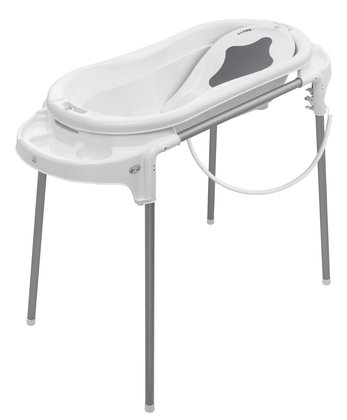 Rotho TOPXtra Badestation - The Rotho TOPXtra bath station convinces with high stability, individual height adjustment and a bath size XL 105 cm in length.