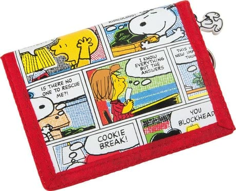 Peanuts Snoopy Portemonnaie - In the peanuts Snoopy wallet is sure kept your child's pocket money. In leisure or in the school a perfect companion.