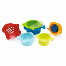 Chicco Badespielzeug Meerestiere - Their small Badenixe can lined the funny moulds or insert into each other. The various hole patterns in the forms are always other waterfall effects.