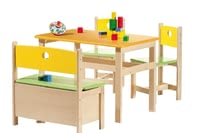 Geuther Kindermöbel-Set Pepino - The Geuther set children furniture pepino is cut on the size and the needs of children.