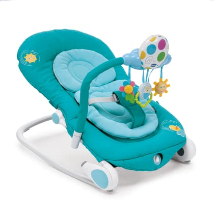 Chicco baby bouncer Balloon Light Blue 2016 - large image