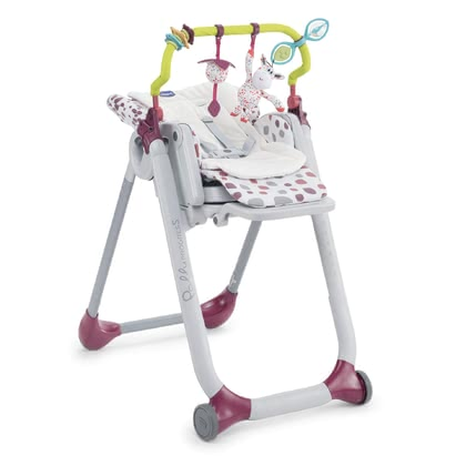Chicco Zubehör-Set für Polly Progres5 - To make even cosier it their little offspring in the Chicco Polly Progres5 accessory kit, the kit consists of a Booster cushionand one Toy bar.