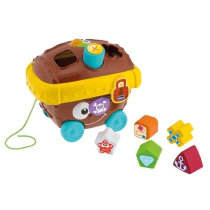 Chicco Pirate Chest Shape Sorter - Chicco Pirate Chest Shape Sorter – This toy will provide a lot of fun to your child aged 12 months.