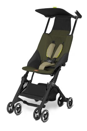 gb by Cybex Buggy Pockit - The gb by Cybex buggy Pockit is the smallest buggy with folding mechanism all over the world.