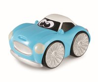 Chicco stunt cars - The stunt cars by Chicco are pull-back cars with crazy stunts and great effects.