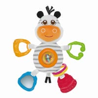 Chicco rattle Mr. Zebra - Chicco rattle Mr. Zebra – This toy offers numerous possibilies to play.