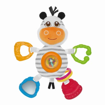 Chicco rattle Mr. Zebra 2016 - large image