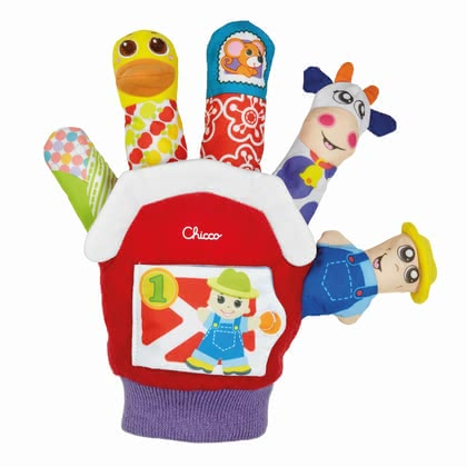 Chicco toy glove - Chicco toy glove – Having the toy glove by Chicco you are able to revive the happy farm.