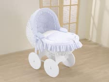 Leipold bassinet Kids - Leipold bassinet Kids – The bassinet will make your child dream wonderfully in a complete crib with textiles.