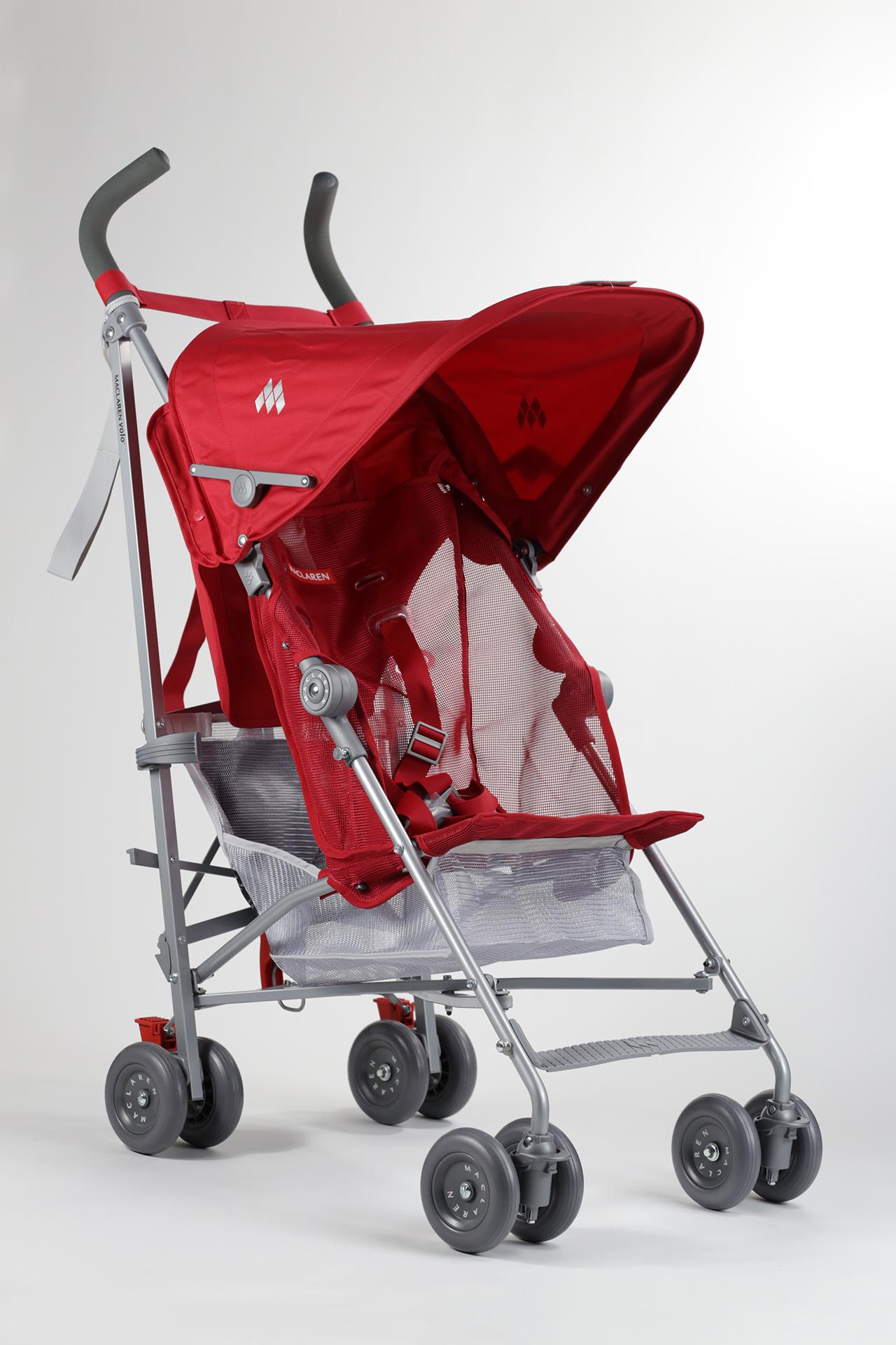 silla de paseo volo maclaren 2015 scarlet comprar en