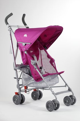 MacLaren VOLO -  Discover the world with your child and the stroller VOLO by MacLaren. Both in everyday life and on holidays, this light weight will be the right choice. Even though it has only 3,9kg, it offers an unfailing stability and a lot of comfort.