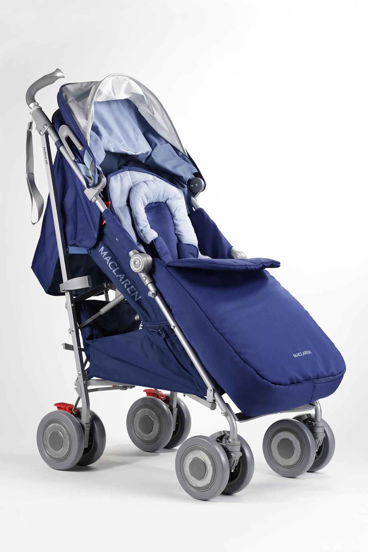 Silla de paseo techno xlr maclaren 2016 soft blue for Cochecitos maclaren precios