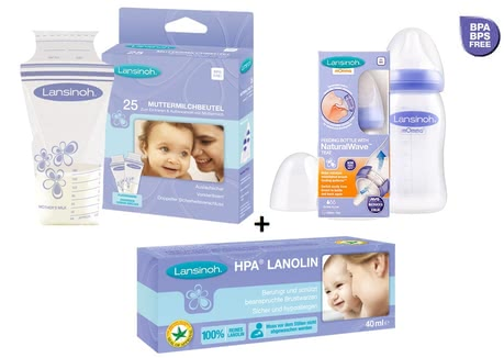 Lansinoh nursing accessories' set 2016 - large image
