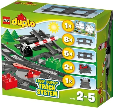 LEGO Duplo railways accessory set - Lego Duplo rail accessory set – A lot of fun will be provided with the rail set by Lego Duplo.