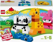 LEGO Duplo Creative Animals - Lego Duplo funny animals – With this set your child learns about the animals on our planet.