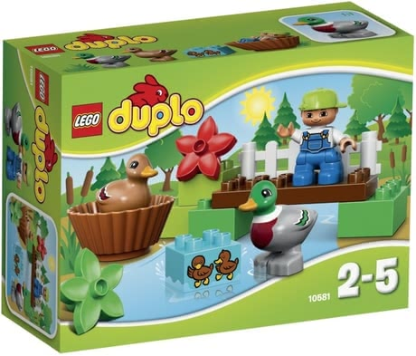 LEGO Duplo Forest Ducks - Lego Duplo feeding ducks – The great set for feeding ducks will be a lot of fun for your little one.