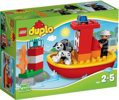 Lego Duplo fire fighter boat 2016 - large image