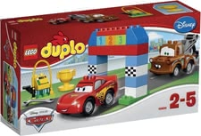 Lego Duplo Disney cars – the race - Lego Duplo Disney cars – the race – Exciting role plays all around the race track by Lego Duplo.