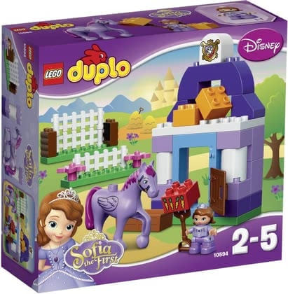 LEGO Duplo Disney Sofia's Royal Stable - Lego Duplo Disney princess Sofia – royal stable – Little girls will shine and be very happy to play with this toy by Lego Duplo.