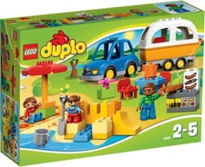 Lego Duplo 乐高得宝 野营冒险 - Lego Duplo camping adventures – A lot of adventures can be experiences with this toy by Lego Duplo.
