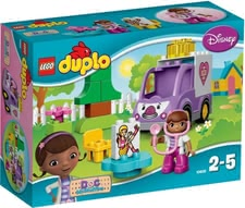 Lego Duplo Doc McStuffins Rosie the ambulance - Lego Duplo Doc McStuffins Rosie the ambulance – Go to the rescue with the ambulance of Doc McStuffins.