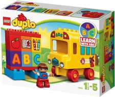 Lego Duplo My first bus - Lego Duplo My first bus – Learning, piling and plugging in a playful way.
