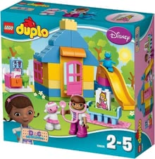 Lego Duplo Doc McStuffins garden clinic - Lego Duplo Doc McStuffins garden clinic – Built a garden clinic with these bricks.