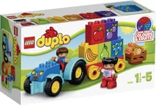 Lego Duplo My first tractor - Lego Duplo My first tractor – The tractor fascinates the littlest ones and is fun to play with.