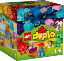 Lego Duplo brick box - Lego Duplo brick box – The Lego Duplo brick box inspires your child to built a lot of creative artworks for holidays.