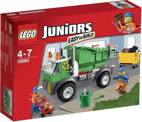 LEGO Duplo Juniors waste disposal - La notice de montage simple pour les débutants de petite construction LEGO Juniors garbage excité.