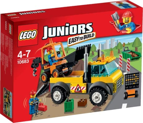 LEGO Juniors road-building lorry 2016 - Image de grande taille