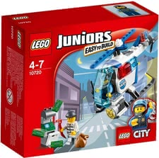 LEGO Juniors prosecution with the police helicopter - Lego Juniors persecution with the helicopter – This set provides a lot of fun to young boys.