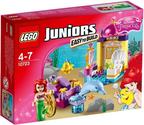LEGO Juniors Disney Arielle's dolphin carriage - Lego Juniors Disney Arielle's dolphin coach – Dive down to a dreamlike underwater world with this toy by Lego.